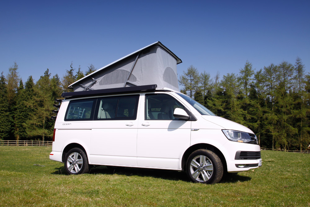 motorhome hire Chesterfield